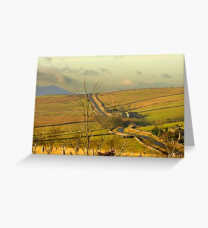 Dales Country Road Greeting Card