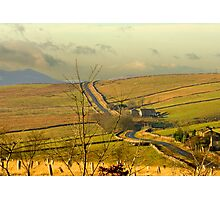 Dales Country Road Photographic Print
