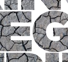King Megatrip Neo Logo - Dirt Sticker