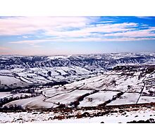 Farndale in Winter Photographic Print