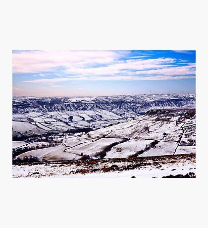 Farndale in Winter Photographic Print