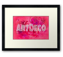 Art Deco Framed Print