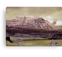Ingleborough in the Yorks Dales Canvas Print