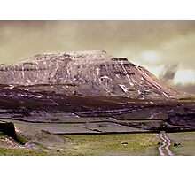 Ingleborough in the Yorks Dales Photographic Print