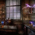 Steampunk - The Mad Scientist by Mike  Savad