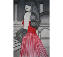 The Red Dress Photographic Print