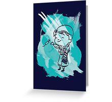 Splash Presi Greeting Card