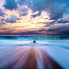 Seaside, Oregon Coast Beach HDR by Fred Seghetti