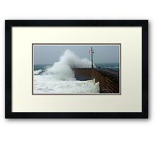 What a difference a day makes. Framed Print