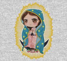 Chibi Our Lady of Guadalupe One Piece - Long Sleeve