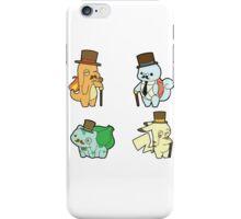 Pokemon - Gentlemon iPhone Case/Skin