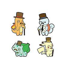 Pokemon - Gentlemon Photographic Print