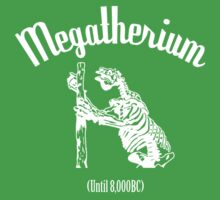Megatherium (Until 8000BC) - white by cupofmanatee
