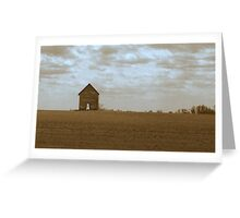 Dust Bowl...Redux Greeting Card