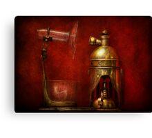 Steampunk - The Torch Canvas Print