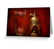 Steampunk - The Torch Greeting Card