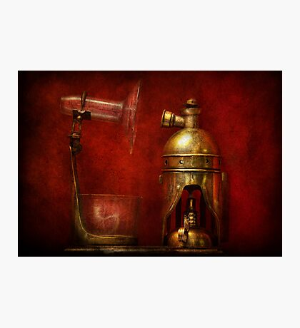 Steampunk - The Torch Photographic Print