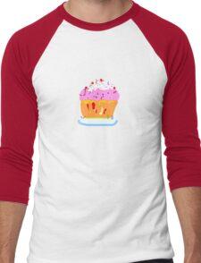 Muffin PINK TEESHIRT/BABY GROW/STICKER Men's Baseball ¾ T-Shirt