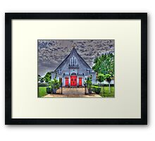 Little Church in Queens-front view Framed Print