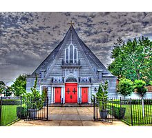 Little Church in Queens-front view Photographic Print