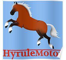 Hyrule Motor color Poster