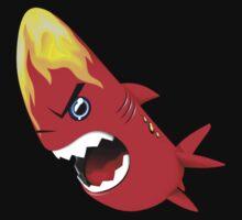Sharky Fire 01 Kids Tee