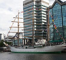 Gloria tall ship from Columbia by Keith Larby