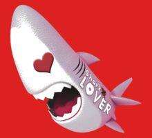 Sharky Lover 03 Baby Tee