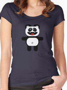 PANDA Women's Fitted Scoop T-Shirt
