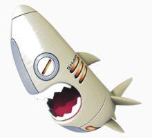 Sharky Mecha 02 Baby Tee
