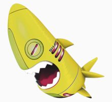 Sharky Mecha 04 Baby Tee