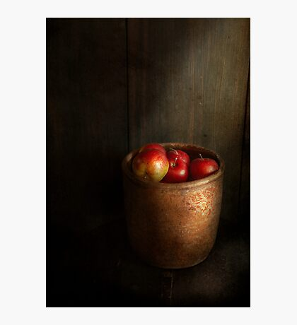 Chef - Fruit - Apples Photographic Print
