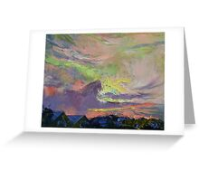 Summer Evening Greeting Card