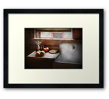 Kitchen - Sink - Farm Kitchen  Framed Print