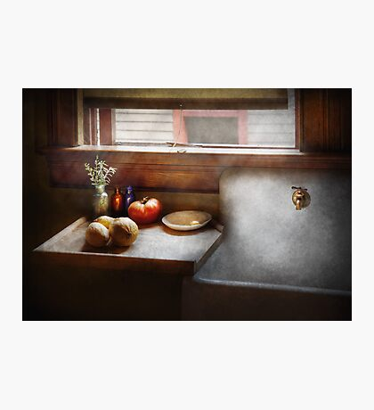 Kitchen - Sink - Farm Kitchen  Photographic Print