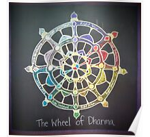 The Wheel of Dharma Poster