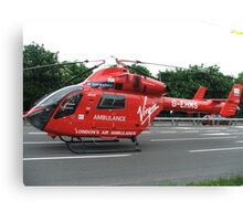G-EHMS MD Helicopters MD 900 London Air Ambulance Canvas Print