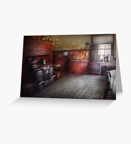 Kitchen - Storybook cottage kitchen Greeting Card