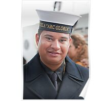 "A navy sailor from ""ARC GLORIA"". Poster"
