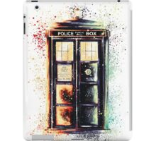 Coloured Time And Relative Dimension In Space iPad Case/Skin