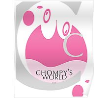 Chompy's World | Letter C Poster