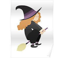Halloween cartoon 04 Poster