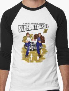 Supernatural Comics Men's Baseball ¾ T-Shirt