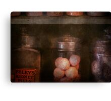 Pharmacy - Kidney pills & Suppositories Canvas Print