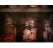 Pharmacy - Kidney pills & Suppositories Photographic Print
