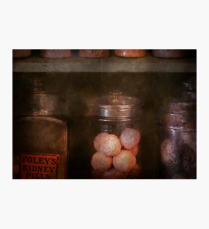 Pharmacy - Kidney pills & Suppositories Photographic Print