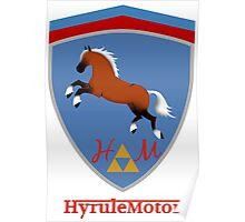 Hyrule Motors Color Shield Poster