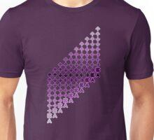 The CODE (purple) Unisex T-Shirt