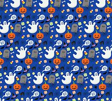 Cute Halloween Pattern by HolidaySwagg
