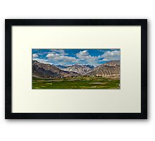 Nubra Valley-5/2011 Framed Print